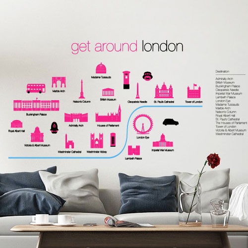london underground tube map wall stickers wall poster art omy london wall stickers achica